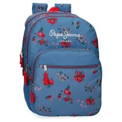 Mochila Doble Compartimento Adaptable Pepe Jeans Pam