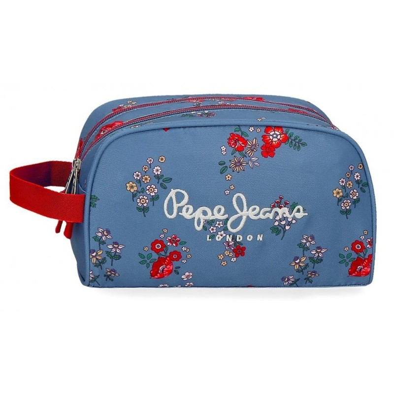 Neceser Doble Compartimento Adaptable Pepe Jeans Pam