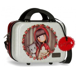Neceser ABS Gorjuss adaptable a trolley Little Red Riding Hood