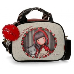 Neceser con bandolera Gorjuss adaptable Little Red Riding Hood