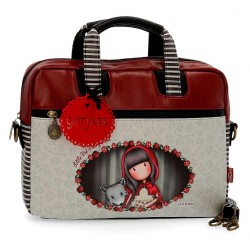 "Maletín Gorjuss de 13,3"" Little Red Riding Hood"