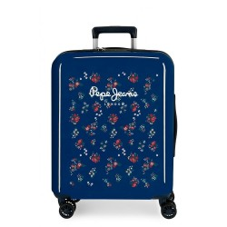 Maleta de cabina Pepe Jeans Taking off flores + Regalo