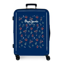 Maleta mediana Pepe Jeans Taking off  flores + Regalo