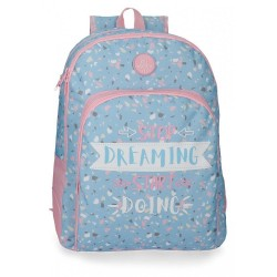 Mochila Roll Road Dreaming 44cm adaptable