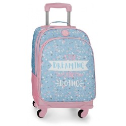 Mochila trolley Roll Road Dreaming 4 ruedas