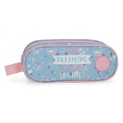 Estuche Doble Compartimento Roll Road Dreaming