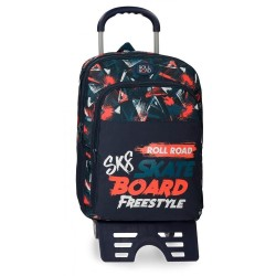 Mochila con carro Roll Road Freestyle 42cm