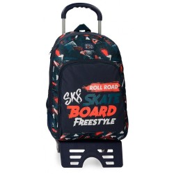 Mochila con carro Roll Road Freestyle 44cm