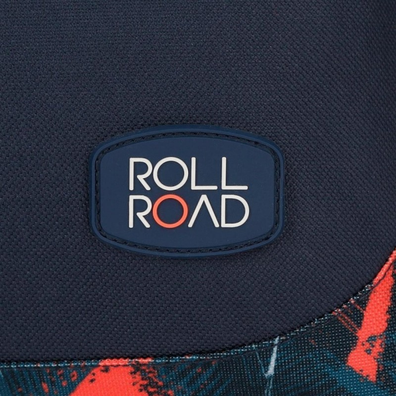 Mochila Escolar con Carro Roll Road Freestyle