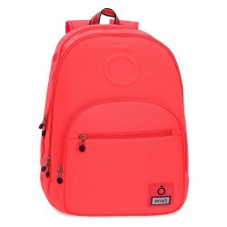 Mochila doble compartimento adaptable Enso Basic Coral