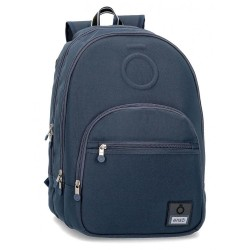 Mochila doble compartimento adaptable Enso Basic Azul