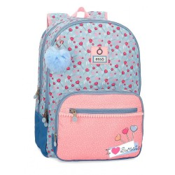 Mochila Doble Compartimento Adaptable Enso I love sweets