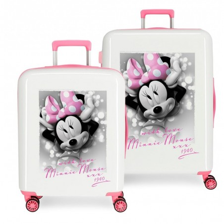 Maletas infantiles Minnie Style with love + Regalo