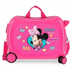 Maleta correpasillos Minnie Happy Helpers 2 ruedas giratorias + Regalo