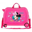 Maleta correpasillos Minnie Happy Helpers 2 ruedas multidireccionales