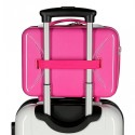 Neceser adaptable a trolley Blanca Nieves fucsia