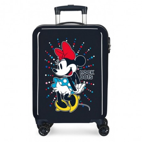 Maleta de cabina Minnie Rock Dots Azul + Regalo