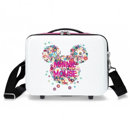 Neceser infantil Minnie Sunny Day Flores Fucsia