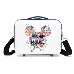 Neceser ABS Minnie Sunny Day Flores Azul