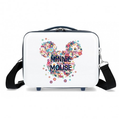Neceser infantil Minnie Sunny Day Flores Azul