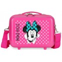 Neceser ABS Minnie Sunny Day Fucsia