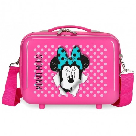 Neceser infantil Minnie Sunny Day Fucsia
