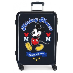 Maleta infantil Mickey The one azul Mediana + Regalo