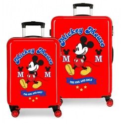 Maletas infantiles Mickey The one en rojo + Regalo