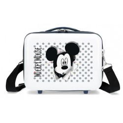 Neceser ABS Mickey Mouse Adaptable Azul