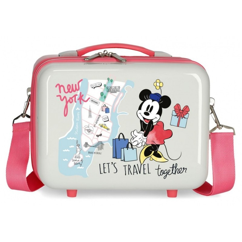 Neceser ABS Minnie New York Adaptable