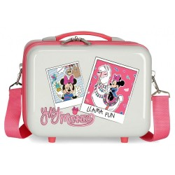 Neceser ABS Minnie Llama Adaptable