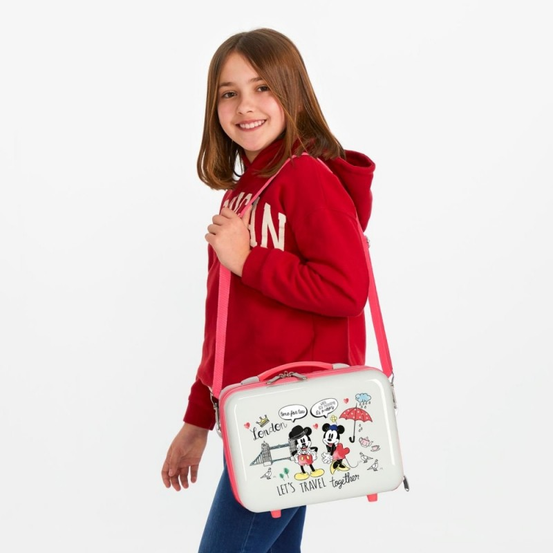 Neceser ABS Minnie London Adaptable