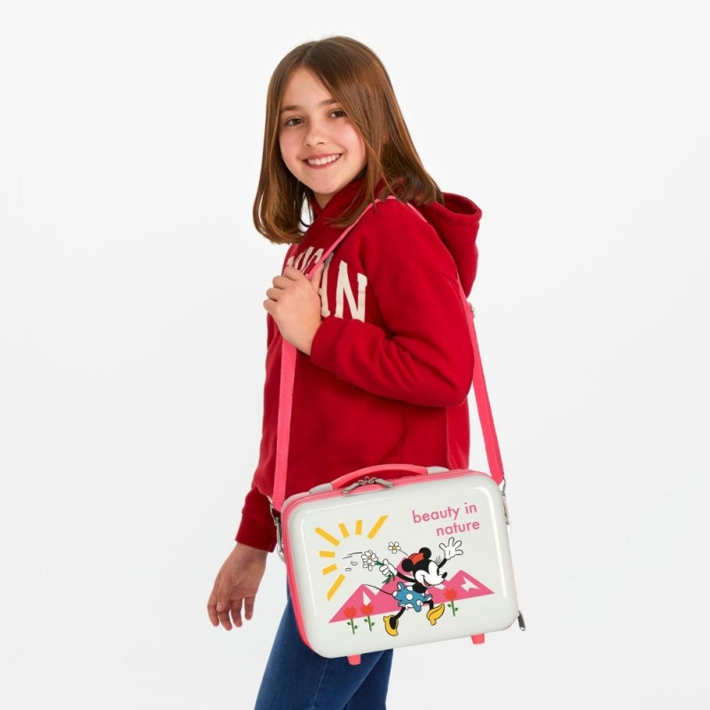 Neceser ABS Minnie Nature Adaptable