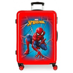 Maleta mediana Spiderman Black rígida 68cm