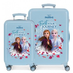 Maletas infantiles Frozen Trust your journey + regalo