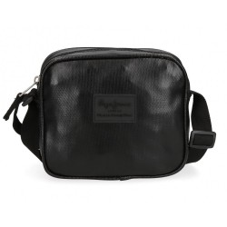Bandolera Pepe Jeans April negra