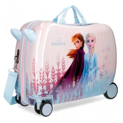 Maleta infantil Frozen True to Myself 2 ruedas giratorias + regalo