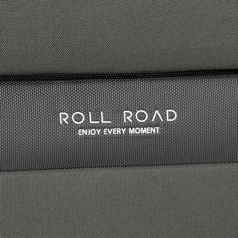 Maleta mediana Roll Road Carter 66cm Gris