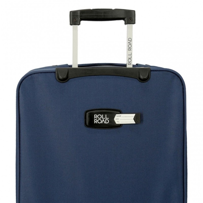 Maleta mediana Roll Road Carter 66cm Azul