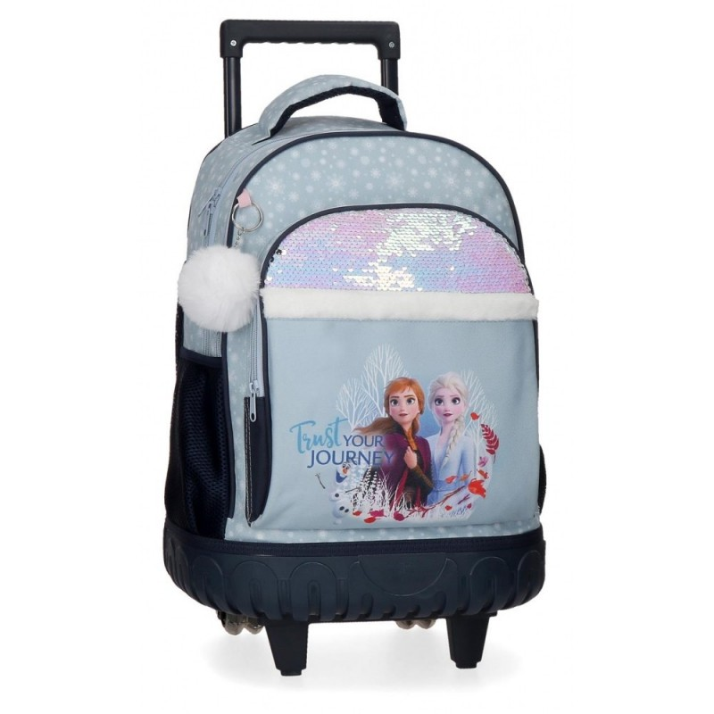 Mochila Frozen con ruedas Trust your journey