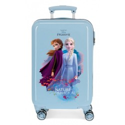 Maleta de cabina infantil Frozen Nature is magical + regalo