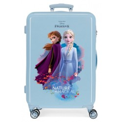 Maleta infantil Frozen Nature is magical mediana + regalo