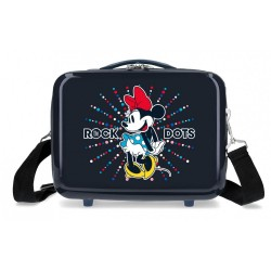Neceser ABS Minnie Rock Dots Azul