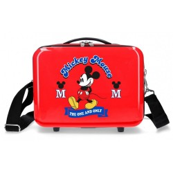 Neceser ABS Mickey Adaptable The One roja