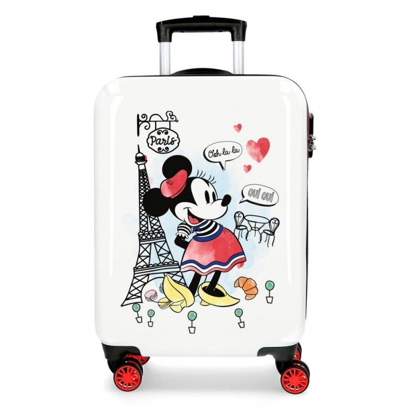 Maleta de cabina Minnie Around the World Paris