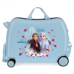 Maleta Correpasillos Frozen Trust your journey 2 ruedas giratorias + regalo