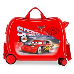 Maleta Infantil Cars Speed Trails 2 Ruedas Multidireccionales