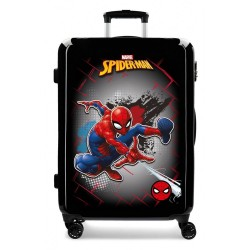 Maleta Mediana Spiderman Red rígida 68cm