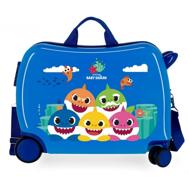 Maleta Infantil Baby Shark Happy Family