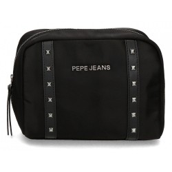Neceser Pepe Jeans Roxanne negro